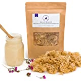 Happy Fox® Organic Sea Moss   Clean, Sundried and Odorless   Premium 100% Wildcrafted, Non GMO, Raw, Organic Sea Moss for Gel   Vitamins and Minerals Wild Seamoss Supplement
