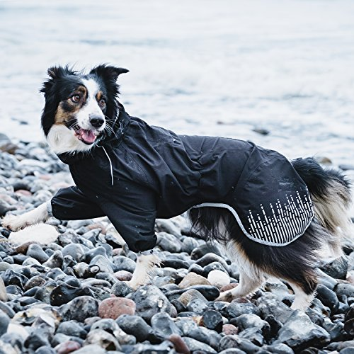 Hurtta Rain Blocker, Dog Raincoat, Stream, 16 in by Hurtta (Image #2)