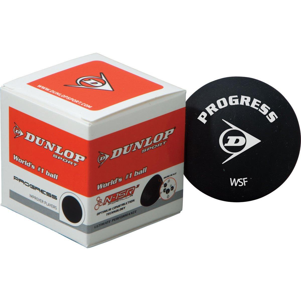 Dunlop Pro Squash Ball (2 X Yellow Dot) by Dunlop