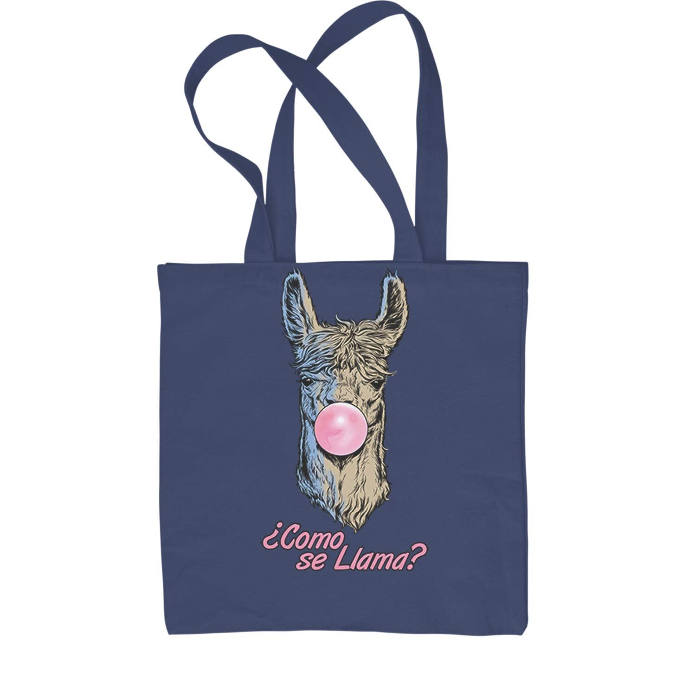 Expression Tees Como Se Llama Bubble Gum Shopping Tote Bag