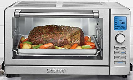 2ecf9b45e01 Image Unavailable. Image not available for. Color  Cuisinart Deluxe  Convection Toaster Oven Broiler