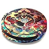 Skin Decal Vinyl Wrap for iRobot Roomba 650 655 Vacuum / Galaxy Paisley Antique