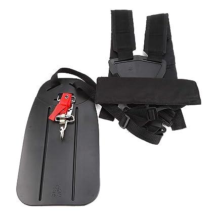 Trimmer Harness Strap Double Shoulder Strap Mower Nylon L-Shaped Belt Universal for Brush Cutter Garden