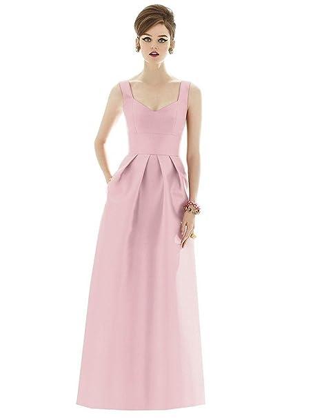 Vestido De Fiesta De Verano De Citas Sra MeiZiWang,Pink-XXL