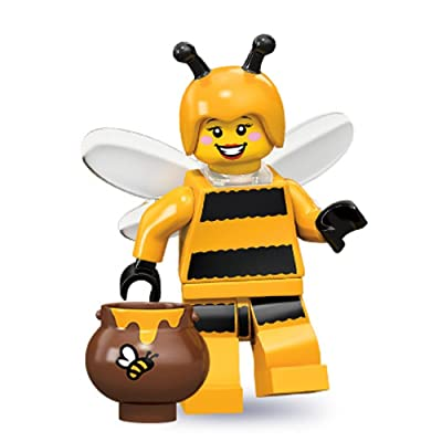 Lego Series 10 Bumblebee Girl Mini Figure: Toys & Games
