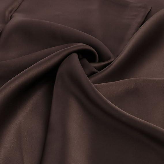 Amazon.com: eDealMax 100% pura seda de morera Charmeuse almohada cubierta de la caja de la almohadilla por Cabello y piel de belleza 19 Momme Reina Tamaño ...