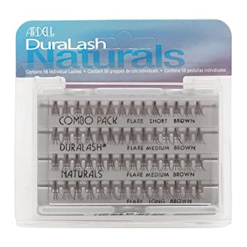 ab5e67f146f Ardell Duralash Naturals Combo Pack Brown: Amazon.co.uk: Beauty