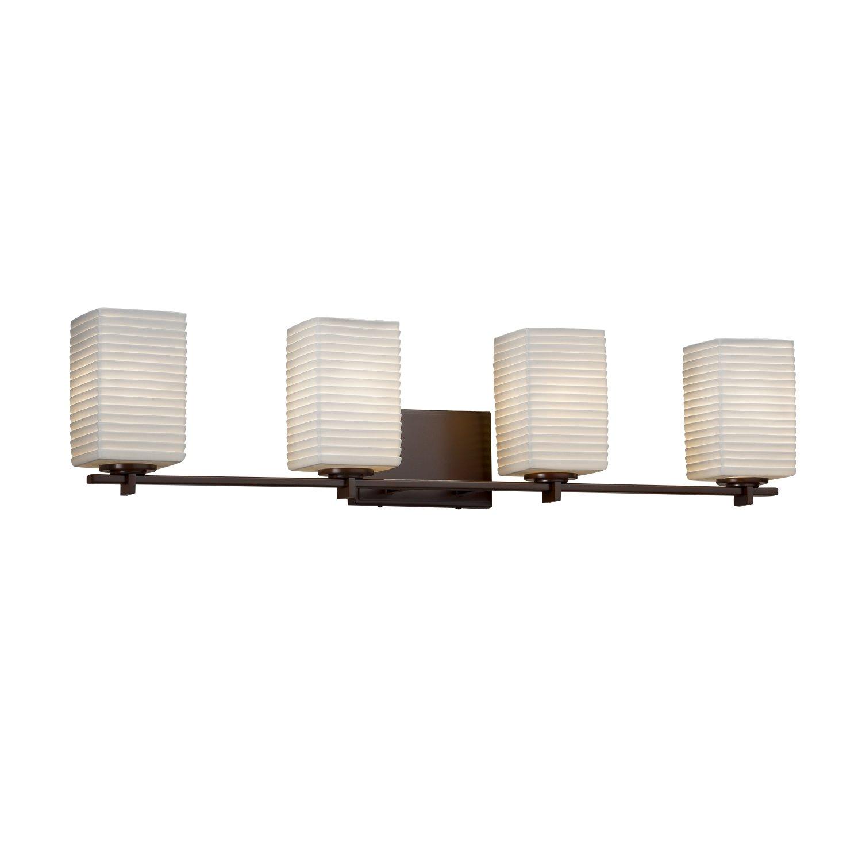 Amazon.com: Limoges Era 4-Light – Toalla Bar – cuadrado con ...