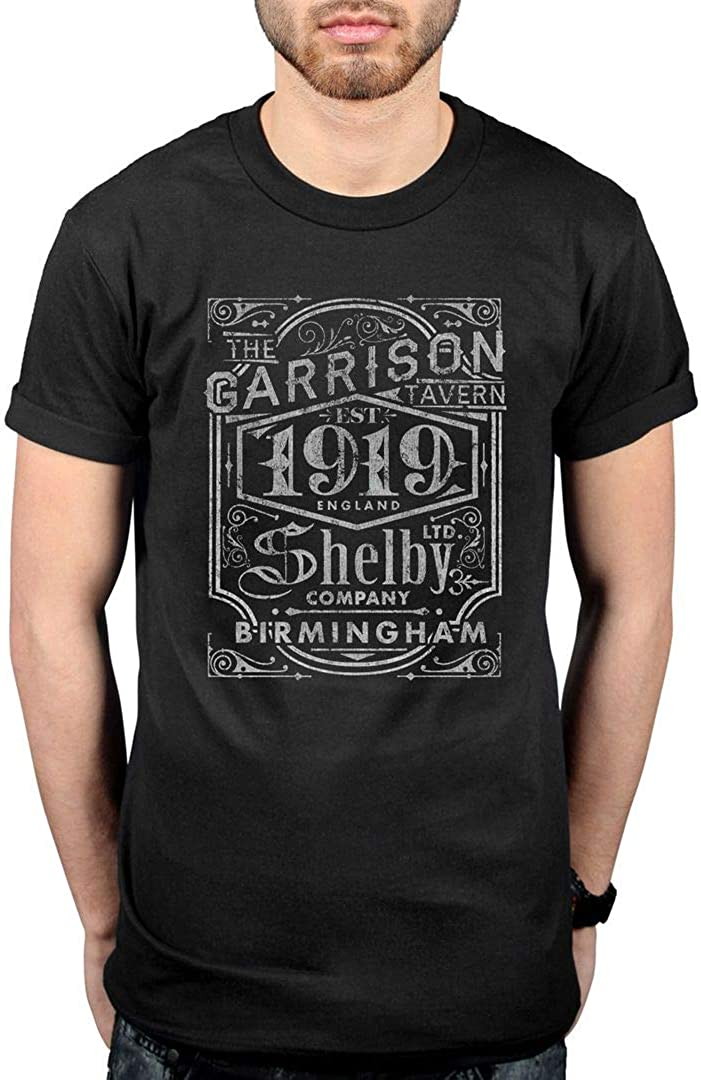 SHELBY COMPANY LIMITED MENS T SHIRT PEAKY BROTHERS THE GARRISON BLINDERS CRIME