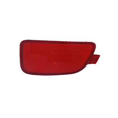 TYC 17-0353-00-1 Compatible with Kia Soul Right Replacement Reflex Reflector: Automotive