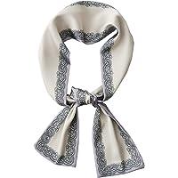 K-Elewon Small Long Scarf for Women's Neck Scarves Hair Band Neckerchief Handbag Ribbon Head Wrap