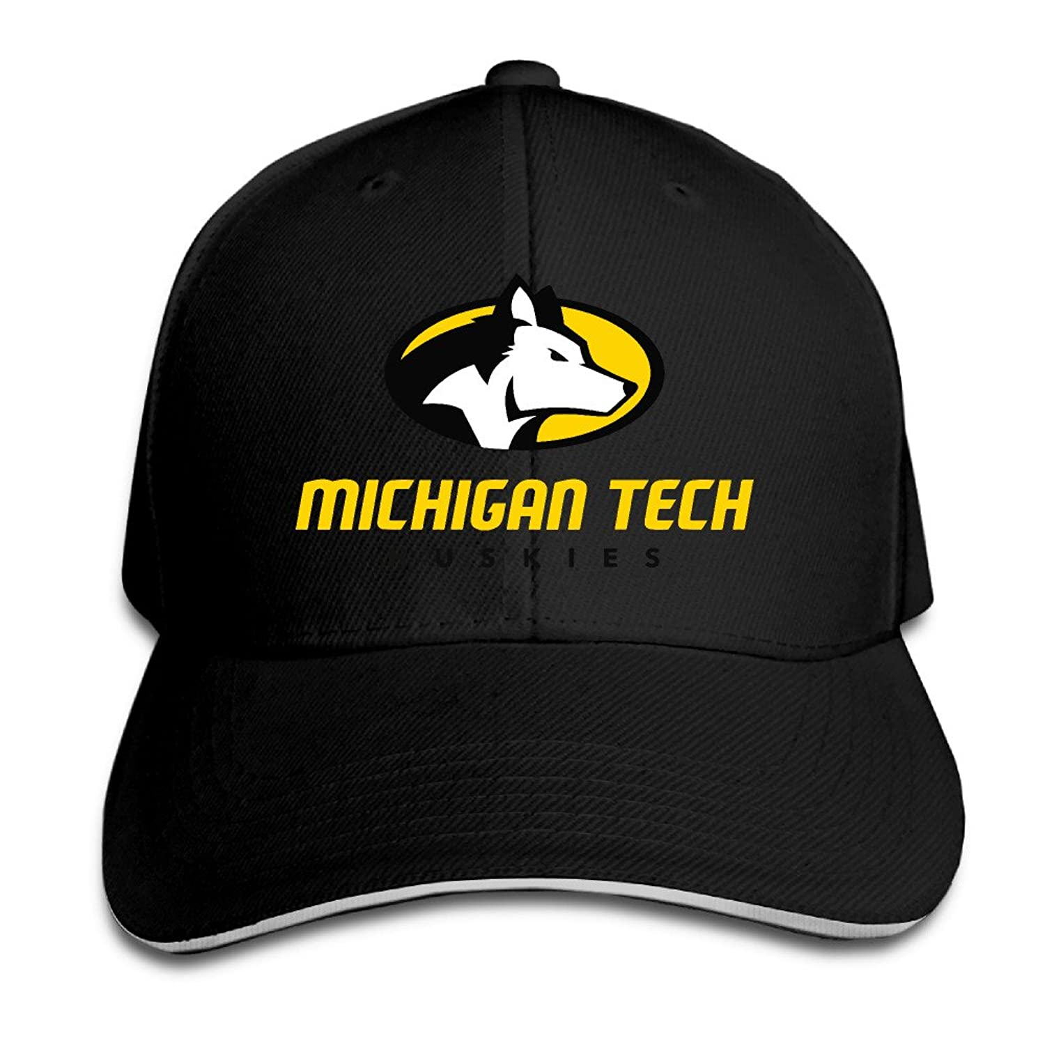 HIITOOP Michigan Tech Huskies Baseball Cap Hip-Hop Style