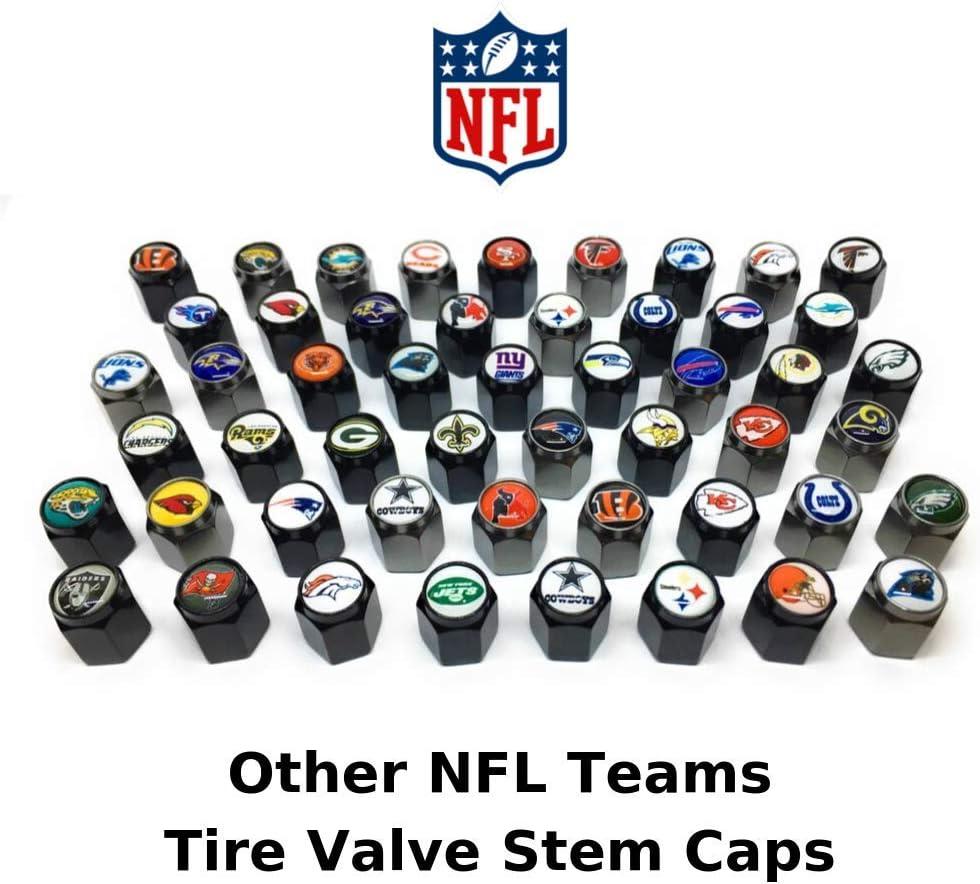 Washington Redskins Valve Stem Caps