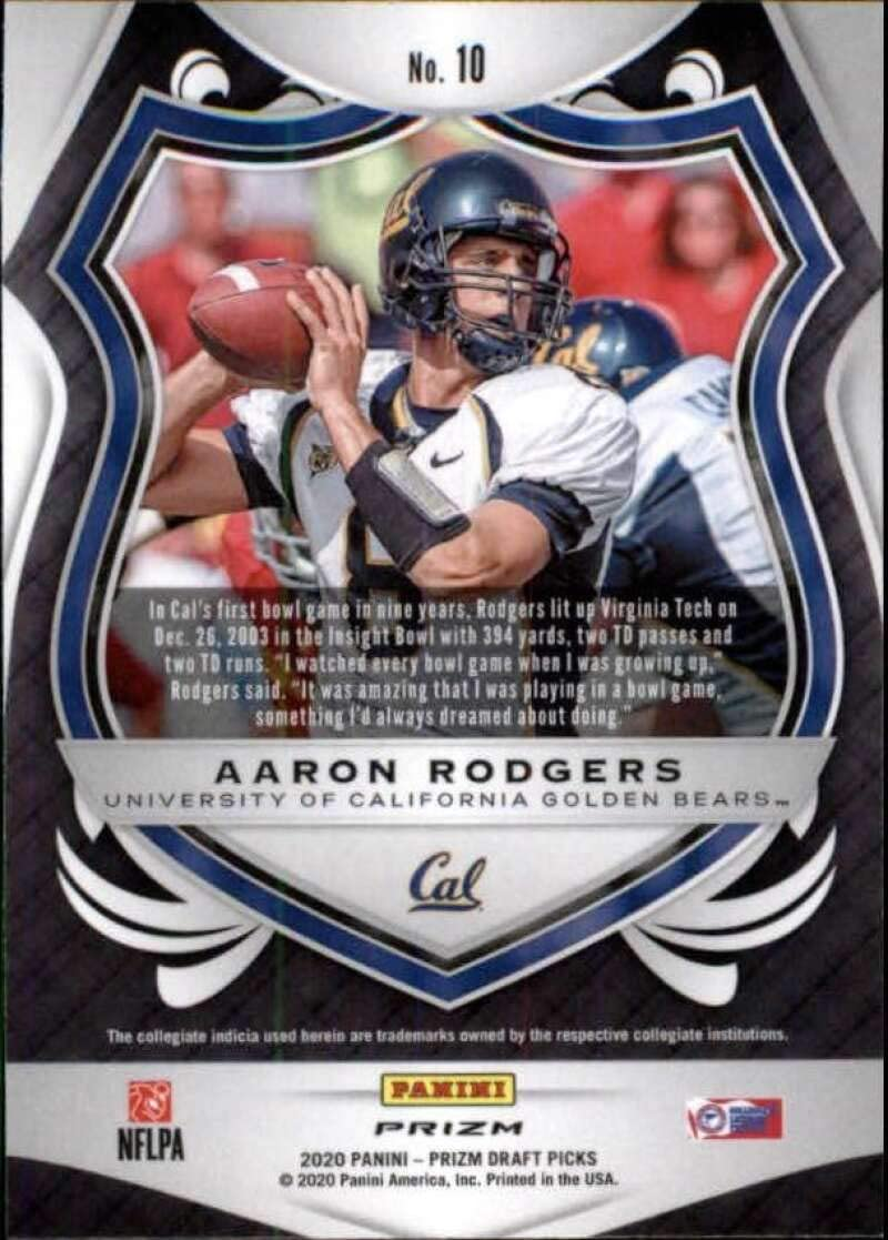 Aaron Rodgers Cal Golden Bears Football Jersey - White