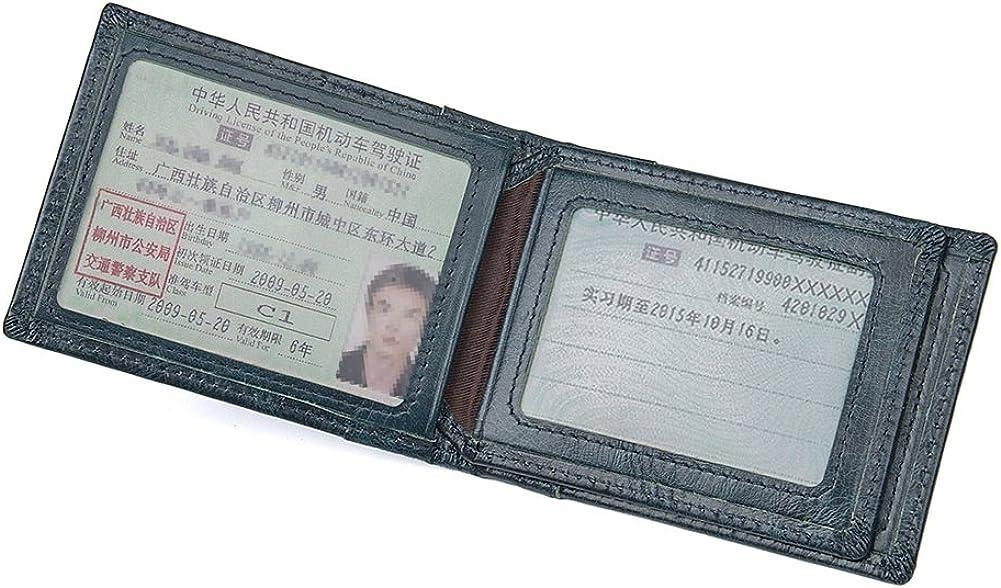 Genda 2Archer Mens Trifold Wallets RFID Blocking Leather Card Holder