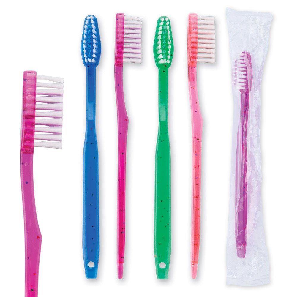 Oraline Pre-Teen Sparkle Toothbrushes - 144 per pack SmileMakers Inc