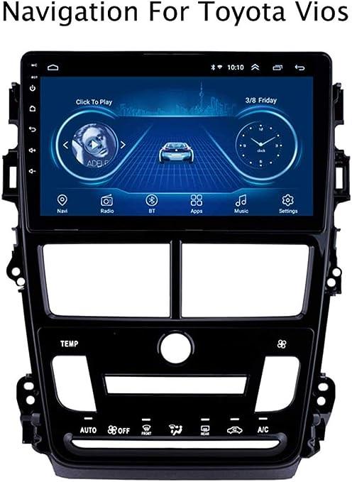 Lour Android 8.1 táctil de navegación GPS de la Pantalla de Toyota Vios Yaris 2018 Rueda Bluetooth/AUX/DVD/Dab/dirección/Wi-Fi / / Espejo de Enlace de Radio del Coche del USB,Mo.: Amazon.es: Electrónica