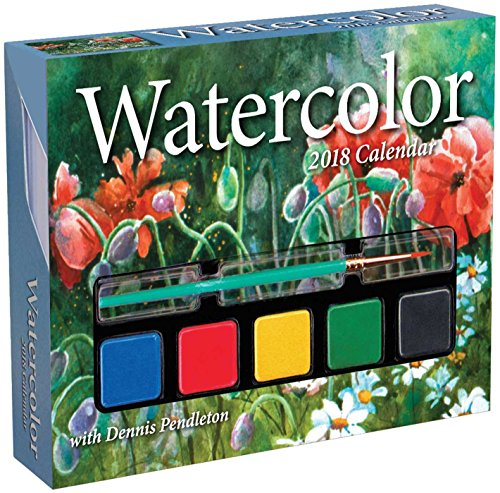 Watercolor 2018 Day-to-Day Calendar