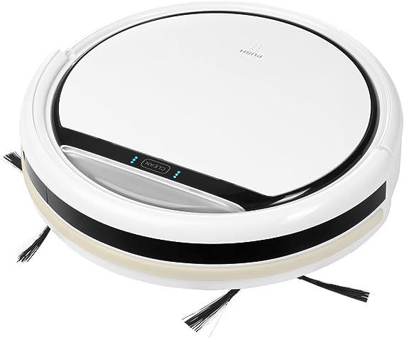MEDION MD 16192 Bolsa para el polvo 0.3L Negro, Color blanco aspiradora robotizada - Aspiradoras robotizadas (Bolsa para el polvo, Negro, Blanco, Alrededor, 0,3 L, Ión de litio, 2200 mAh): Amazon.es: Hogar