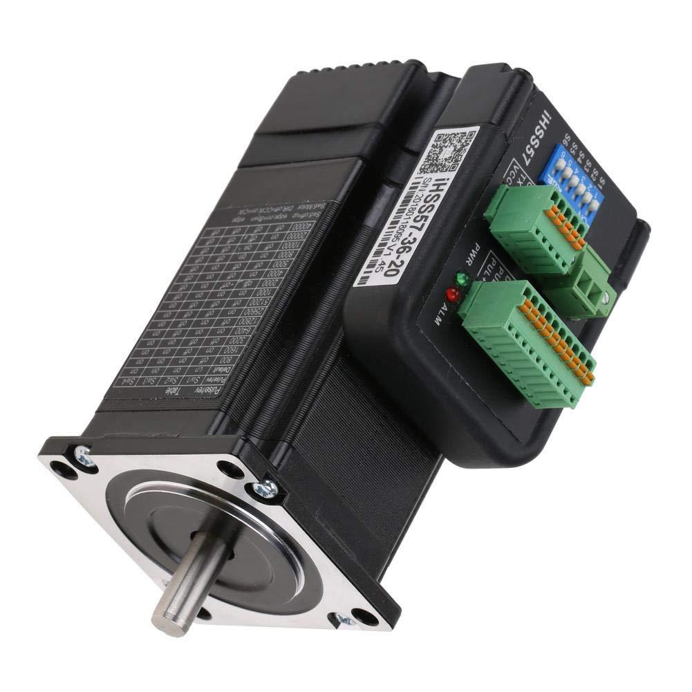 Kit de controlador de servo motor paso a paso de lazo cerrado h/íbrido NEMA23 2Nm iHSS57-36-20 36VDC