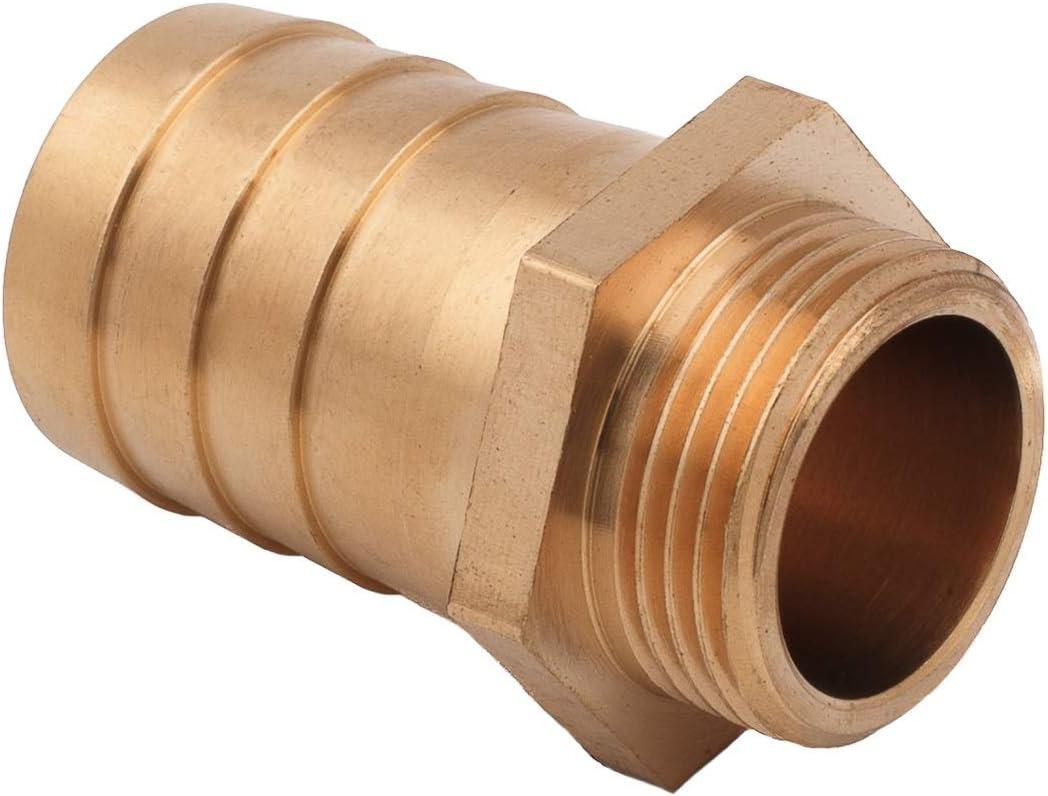 Raccord de Tuyau en Laiton Massif 9 mm 1//2 BSP Filetage Femelle Adaptateurs de tuyaux de Bassin//Piscine//Tuyau.