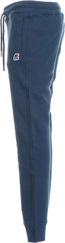 K-Way Pantalone Tuta Bambino Blu Ottanio