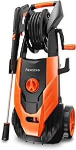 PAXCESS Electric Pressure Washer, 2300 PSI 1.85 GPM Power Washer Machine with Spray Gun, Adjustable Nozzle,26ft High Pressure Hose, Hose Reel (Power Wash Machine, Pressure Cleaner, Car Washer)