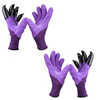 Deals on 2-Pack Garden Genie Gloves with Claws