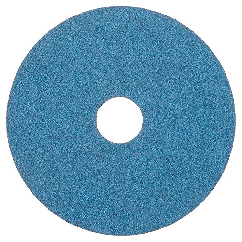 Spiralcool Zee Supreme-5''x7/8''-50 All Purpose Resin Fiber Discs, 50 Grit (Pack of 25) by Spiralcool