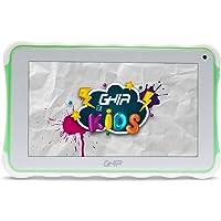 GHIA Tablet Kids 7 Toddler GTAB718R - Quad Core - 1GB de RAM - 8GB de Almacenamiento - 2 Cámaras - WiFi - Bluetooth - Android 8.1 Go Edition - Color Verde