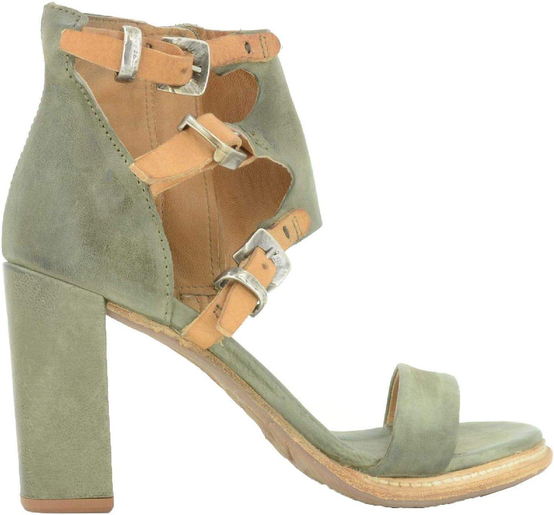 Sandalo da Donna AS98 Modello Basile Art. 589023 Militare-natur