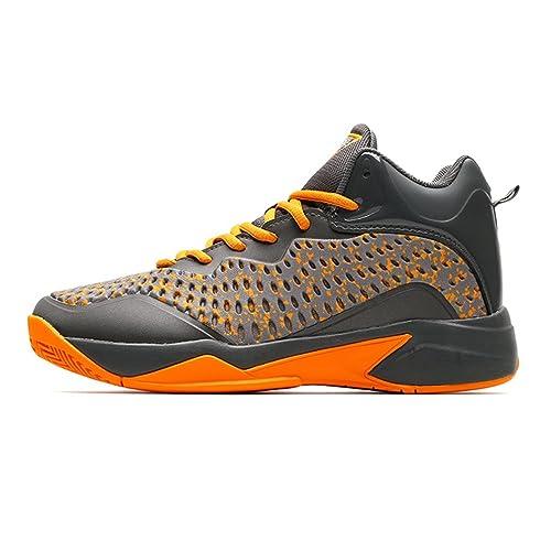 LFEU - Zapatillas de Baloncesto de Lona Hombre: Amazon.es: Zapatos y complementos