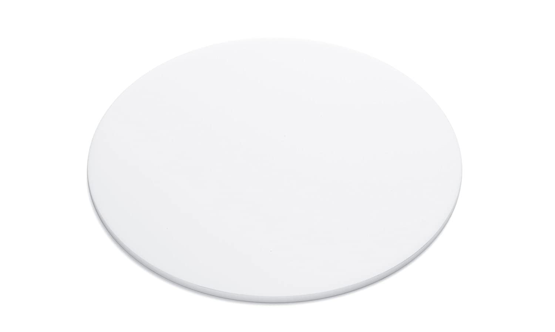 Falken Design Acrylic Plexiglas Lucite Disc Circle 39 White D-WT-1-8//39