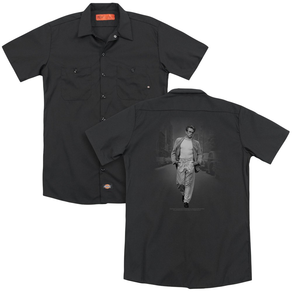 Dean Out For A Walk Adult Work Shirt