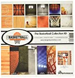 """Reminisce TBAC-200 Basketball Collection Kit, 12"""" by 12"""", Multicolor"""