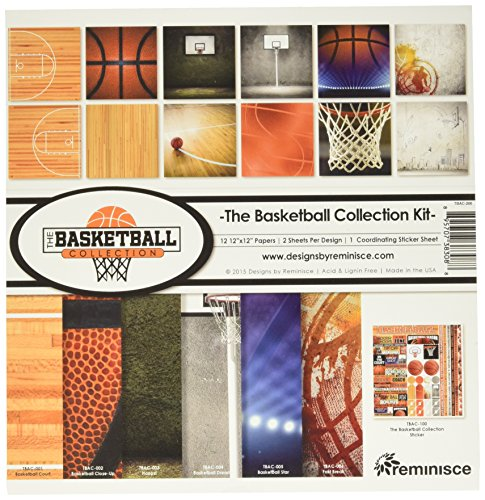 Reminisce TBAC-200 Basketball Collection Kit, 12