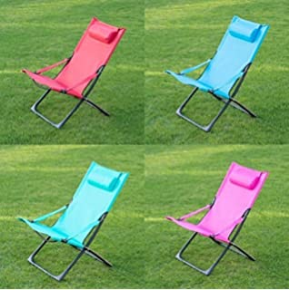 Stress Relaxing Miami Funky Relaxer Deck Chair With Pillow 87 X 50 X H87cm (