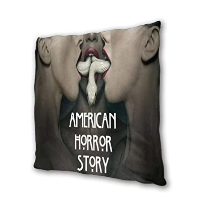"""NOT BRAND American Horror Story Outdoor/Indoor Cushions 18.5""""x 18.5"""", 2 Pieces: Home & Kitchen"""