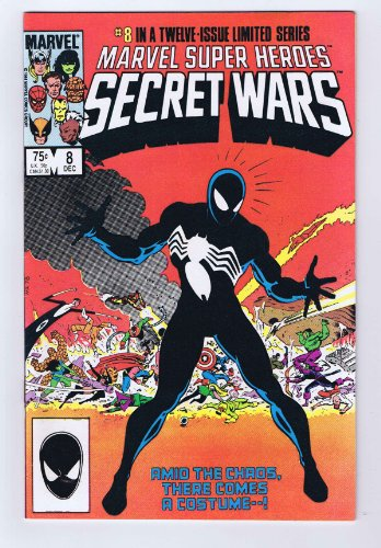 [Marvel Super Heroes Secret Wars #8 Intro Venom Costume 1984 Marvel Comics] (Comicbook Costumes)
