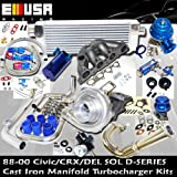 Turbo Kit D Series Honda Civic Del Sol DOHC D15 D16 88-00
