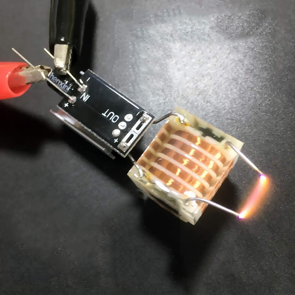 Transformador de Alta frecuencia de 20 kV Filtro de Humo m/ódulo de Controlador Transformador de tensi/ón 2x1,7 cm inversor de generador de negativiones con Bobina de Encendido