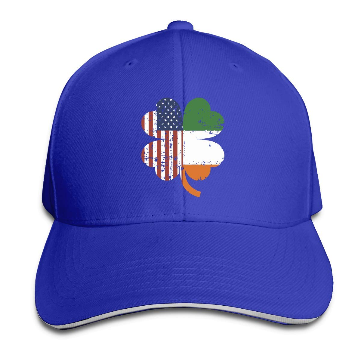 LisaArticles Gorra de Béisbol, Bandera Americana e Irlandesa en ...