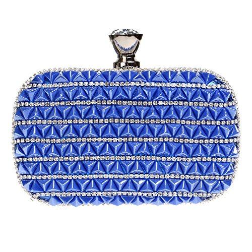 3 Color Women's Dinner Party Evening Diamond Bag Bag QEQE Ladies Exquisite 2 Luxury Clutch Tnw74PdPgq