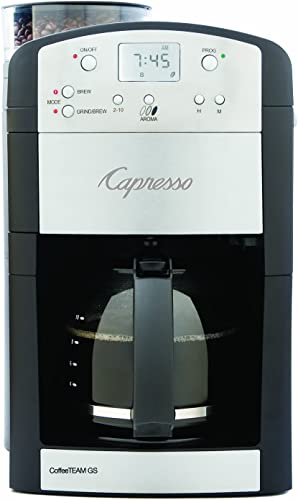 Capresso 464.05 CoffeeTeam GS 10-Cup Digital Coffeemaker