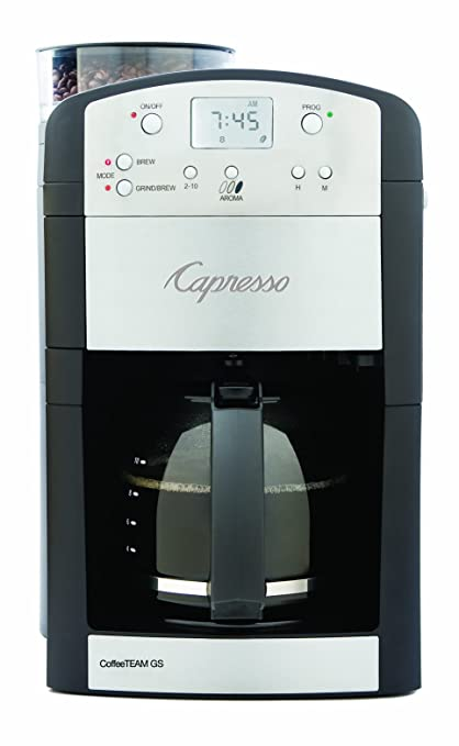 best automatic coffee maker with built in burr grinder