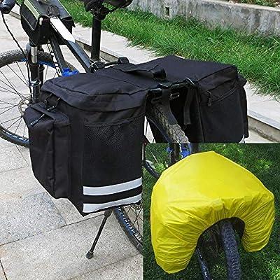 WEIDD Alforja Bicicleta Bolsa de Sillín Ciclismo Tronco Pack Bolsa ...