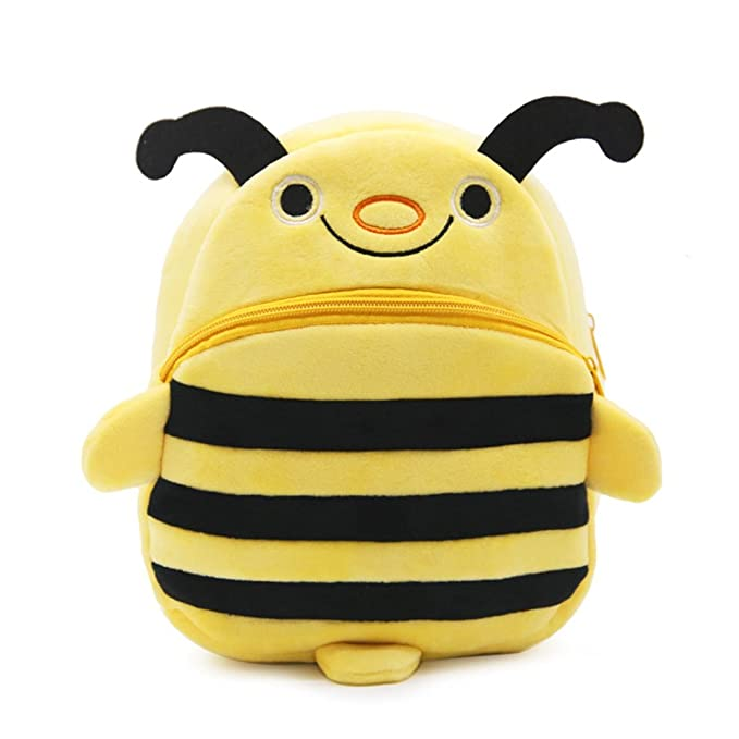 Lovely Cute Funny Ladies//Child/'s Soft Plush Cartoon Bumble Bee Coin Purse