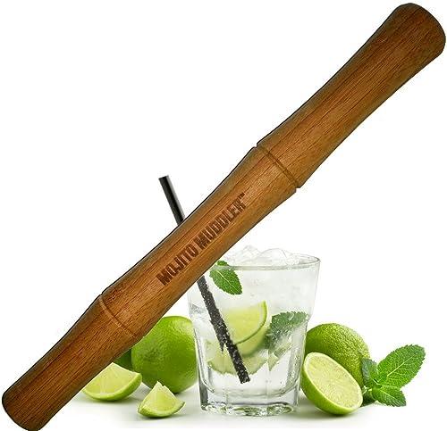 Mojito Muddler 11-calowy bambus klasy profesjonalnej