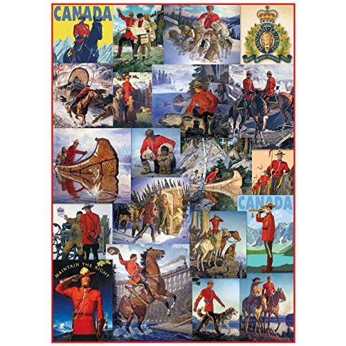 [Royal Canadian Mounted Police - Collage] (Mountie Uniform)
