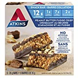 Atkins Day Break Bars, Peanut Better Fudge Crisp, 5 Count